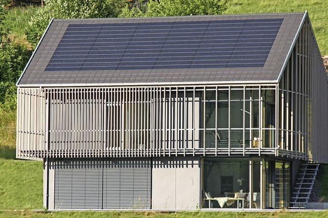 Preisgekröntes Haus am Schwarzwaldhang aus Holz