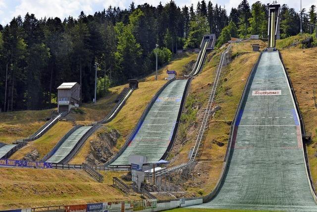 Weltcupsieger Severin Freund springt
