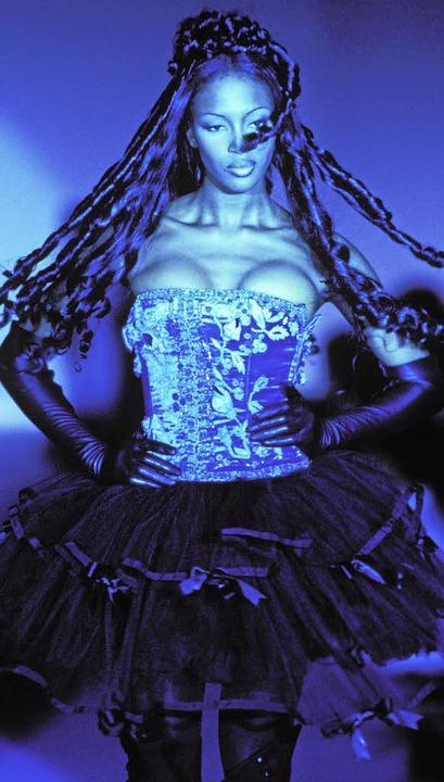 Naomi Campbell, fotografiert von Wilfried Beege.  | Foto: Wilfried Beege