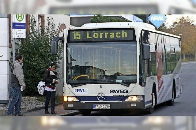 Linie 15 fährt bald über Fischingen