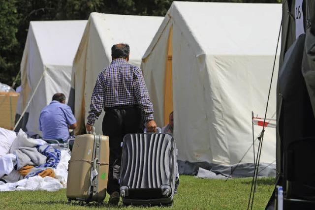 Ein Zeltlager für 100 Asylbewerber?