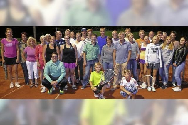 Eine ganze Woche lang Tennis total