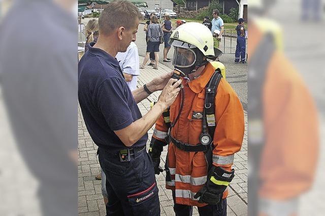 Aktive Nachwuchssuche der Feuerwehr