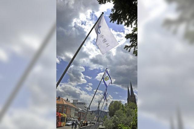 Freiburg arbeitet an Partnerschaften mit den Städten Wiwili, Suwon und Tel Aviv