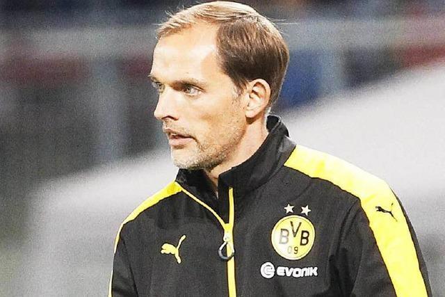 Europa League: Erleichterung bei BVB-Coach Tuchel
