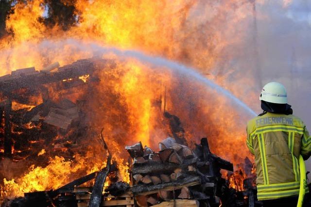 Fortsetzung der Brandserie – diesmal bei Bad Krozingen