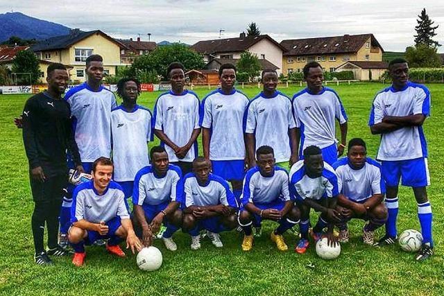 Müllheimer Flüchtlinge starten mit eigener Mannschaft in die Kreisliga