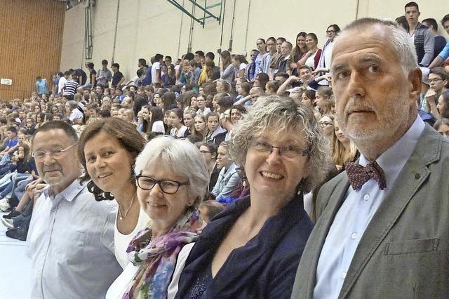 Gemeinsam den Abschluss des Schuljahrs gefeiert