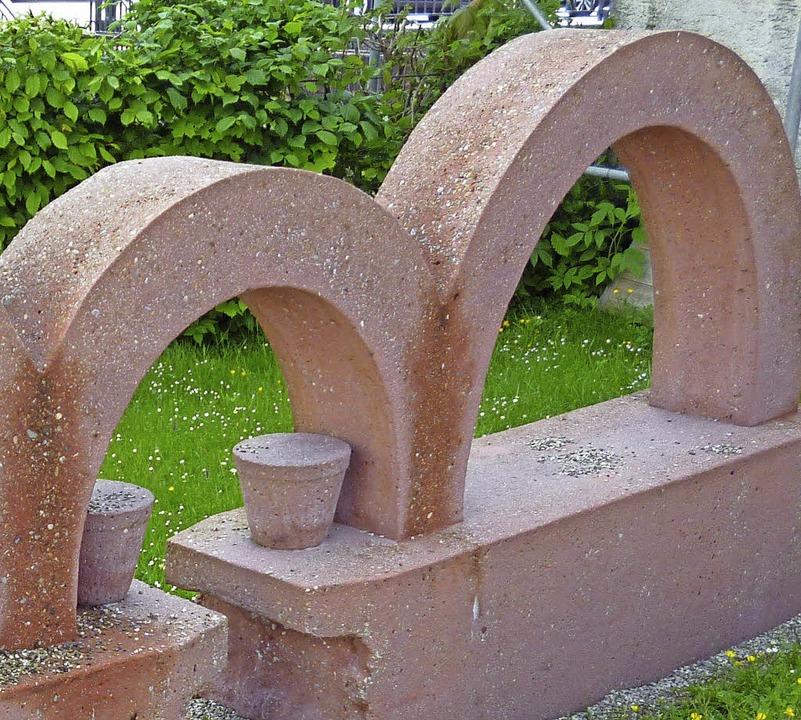 Wo stehen diese Miniarkaden in St. Blasien?   | Foto: Thomas Mutter