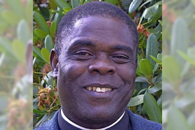 Ein Pfarrer aus Nigeria