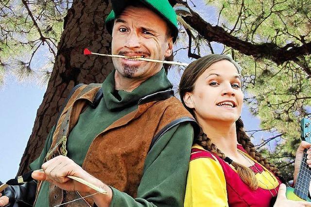 Bogenschützen im Ehrsberger Wald