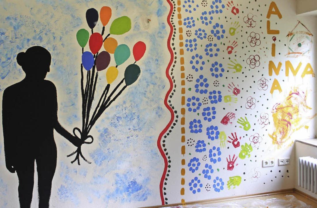 Das Werk von Alina und Anna.  | Foto: sarah beha