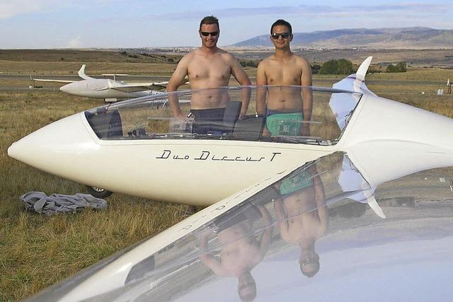 Wehrer Segelfliegern gelingt ein Traumflug