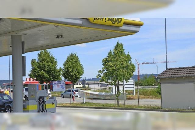 Eine weitere Tankstelle