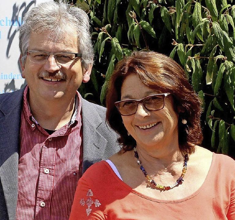 Norbert Fisel und Gabriele Weber   | Foto: Fabry