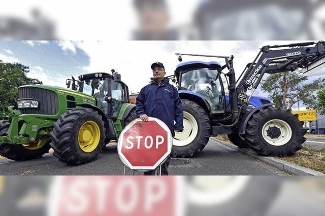 Frankreichs Bauern blockieren Grenze