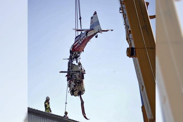 Sportflugzeug in Villingen-Schwenningen abgestürzt