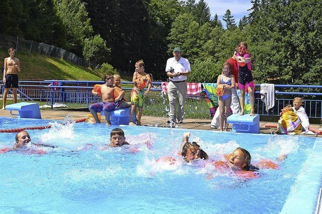 Kinder erleben Sport und Spaß