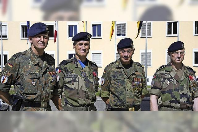 Kommandowechsel bei der Brigade