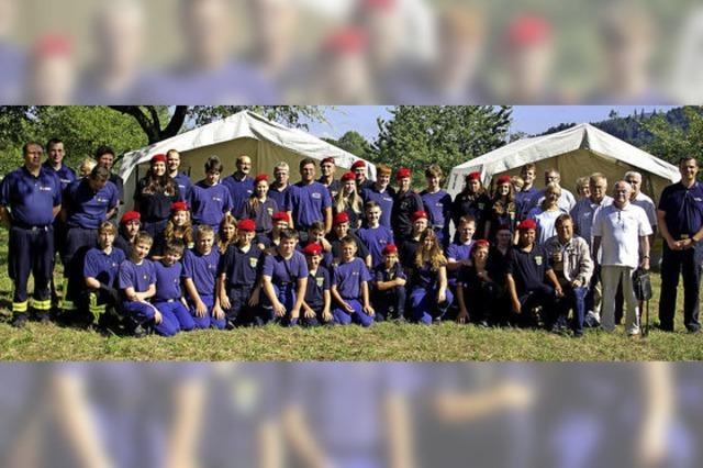 Zwei Jugendfeuerwehren beleben die Städtepartnerschaft