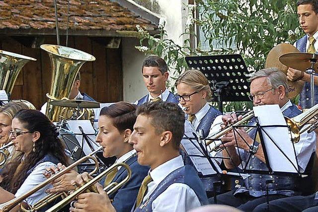 Heimspiel für die Merdinger Musiker