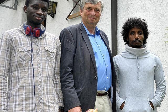 Zwei Flüchtlinge im Kirchenasyl in Freiburg