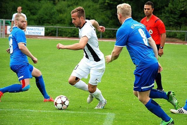 FC Neustadt verliert Pokalspiel gegen FC 08 Villingen mit 1:3