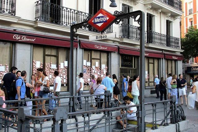 Madrid weint um sein ältestes Café