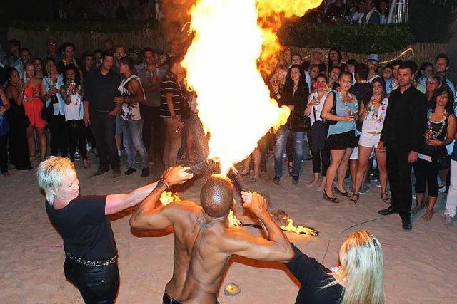 Party machen wie am Mittelmeer oder auf Sylt