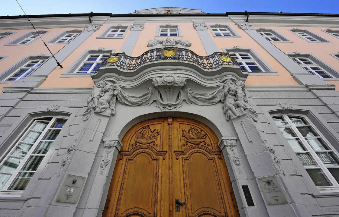 Der Prozess findet im Lörracher Landgericht statt.   | Foto: Ingo Schneider
