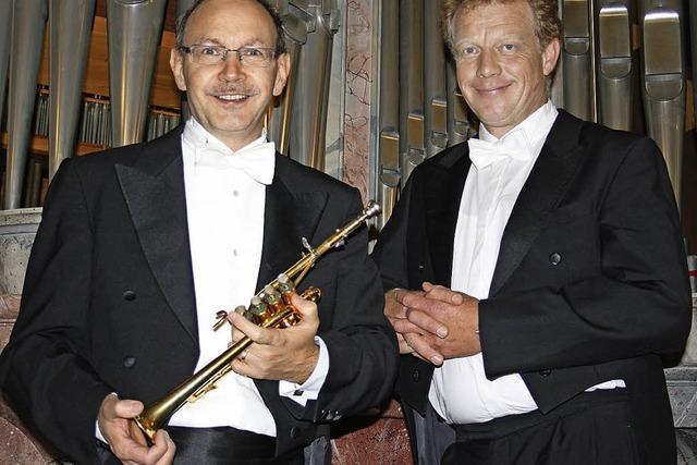 Orgel und Trompete erzeugten samtweiche Töne