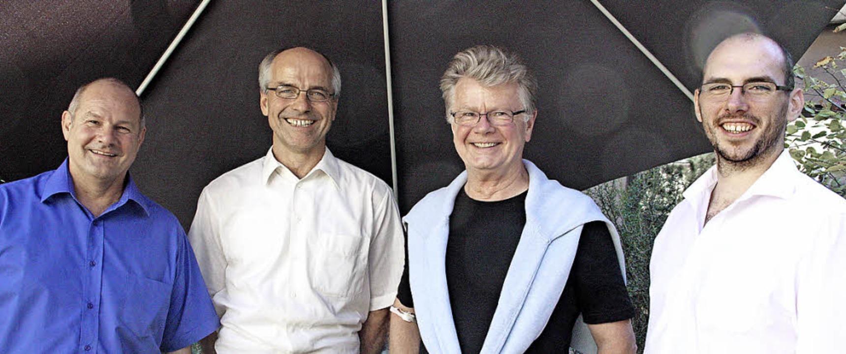 Stellten die Ergebnisse des World-Café... Frithjof Zimmermann und Manuel Knapp   | Foto: Jörn Kerckhoff