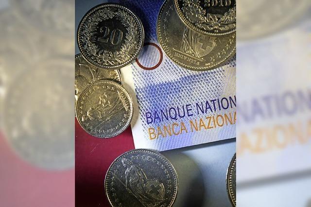 Dünne Portemonnaies werden leerer, dicke noch voller