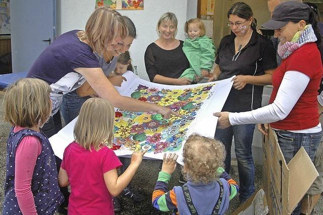 Die Puzzlegruppe feierte den fünften Geburtstag