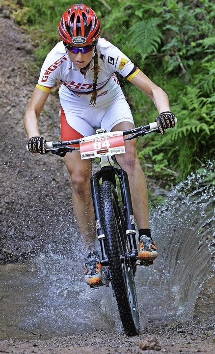 Helen Grobert erfüllte beim Weltcup in...rm für die Olympischen Spiele in Rio.   | Foto: Patrick Seeger