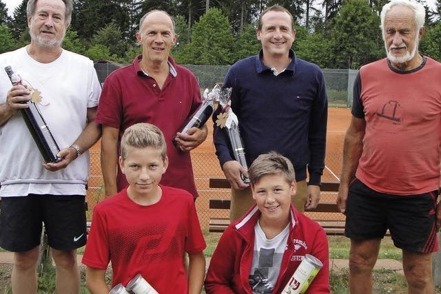 Die besten Tennisspieler sind gefunden