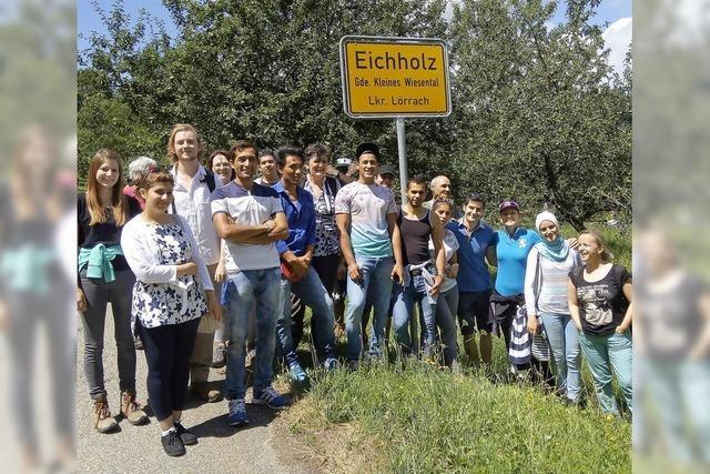 Wandertag für Flüchtlinge