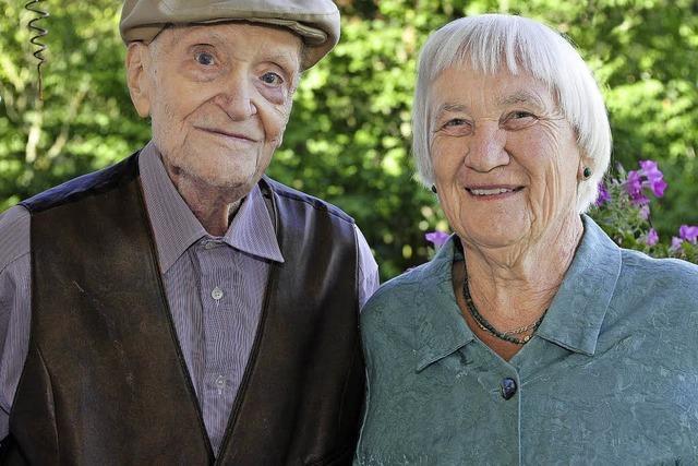 Margarete und Herbert Luley sind seit 65 Jahren verheiratet