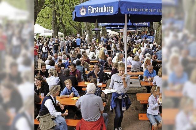 Veranstalter sind zufrieden mit dem Schlossbergfest 2015
