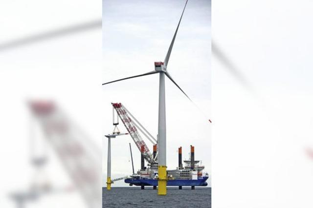 Neuer Offshore-Windpark der EnBW läuft