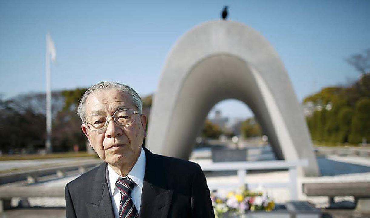 Hiroshi Harada hat überlebt. Er betet jeden Tag und bittet um Verzeihung.  | Foto: Angela Köhler