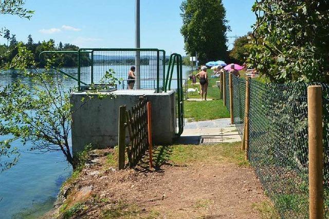 Streit um Schwimmbad-Zaun: Was sagt der Bürgermeister?