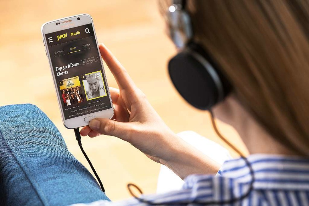 JUKE auf dem Smartphone  | Foto: Media-Saturn-Holding GmbH
