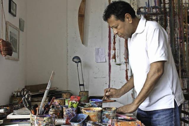 Malen ist sein Lebenswerk
