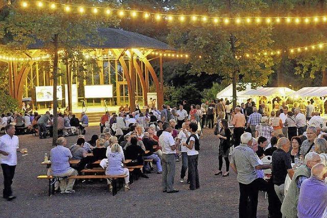 Romantische Sommerabende im Stadtpark