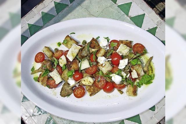 Artischocken-Tomaten-Salat: Ein Hoch auf die Kleinen