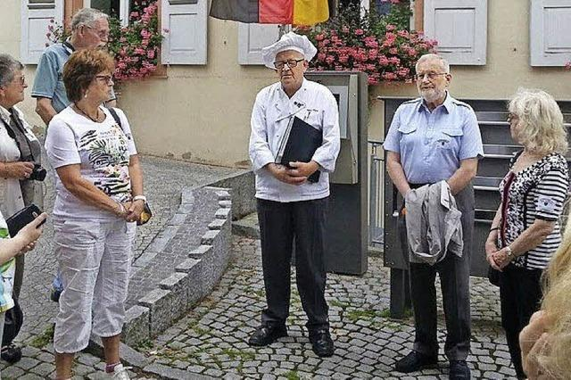 Bäckertour mit Bäckermeister Martin Magnus in Müllheim