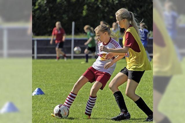 4. Mädchen Fußballcamp