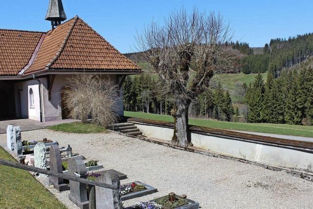 Platz für 16 Urnengräber