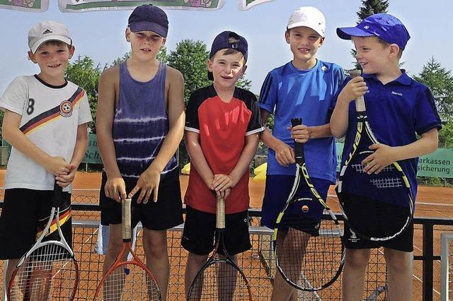 Bonndorfer Tennisjugend macht von sich reden